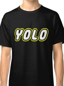 YOLO by Customize My Minifig Classic T-Shirt