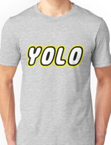 YOLO by Customize My Minifig Unisex T-Shirt