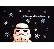 Trooper Christmas card Photographic Print
