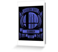 Smash Bro Gunner Greeting Card