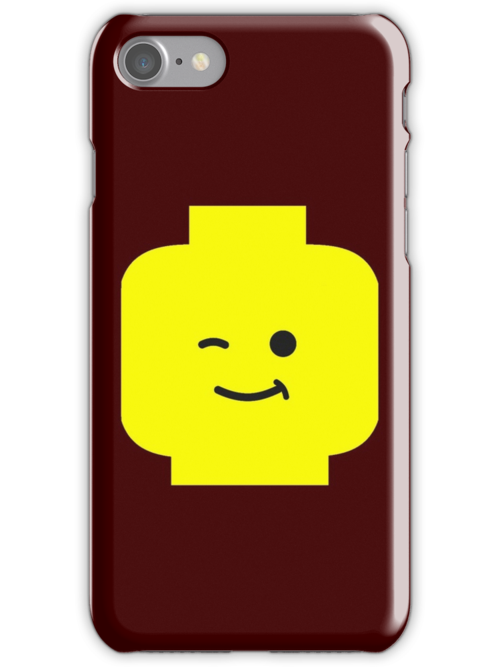 Minifig Winking Head  by Customize My Minifig