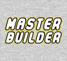 MASTER BUILDER by Customize My Minifig Kids Clothes