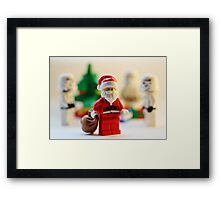 Have yourself a stormie little Christmas Framed Print