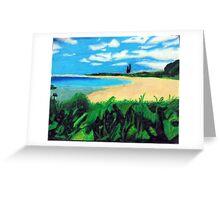 Beach Landscape Greeting Card