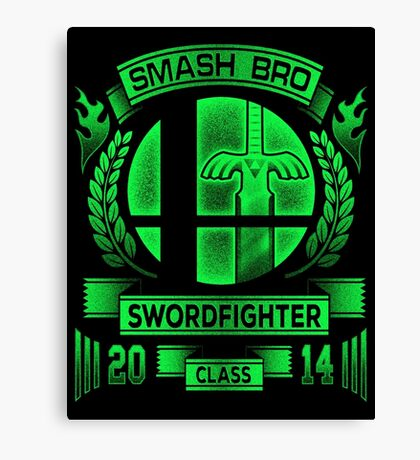 Smash Bro Swordfighter Canvas Print