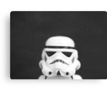 Textured trooper Canvas Print