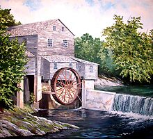Pigeon Forge Mill by James Potter