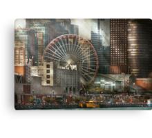 City - Chicago, IL - Pier Pressure Canvas Print