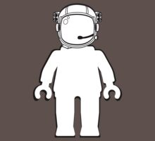 Banksy Style Astronaut Minifigure by Customize My Minifig Kids Clothes