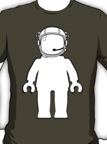 Banksy Style Astronaut Minifigure by Customize My Minifig T-Shirt
