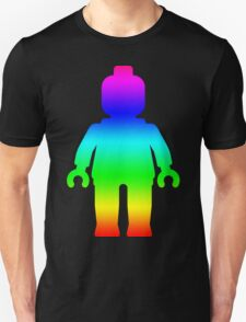 Minifig [Large Rainbow 1]  T-Shirt