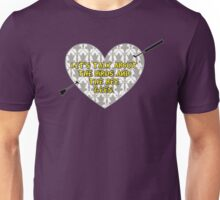 The Birds and the Bee Gees {Standard Design} Unisex T-Shirt