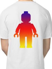 Minifig [Large Rainbow 2]  Classic T-Shirt