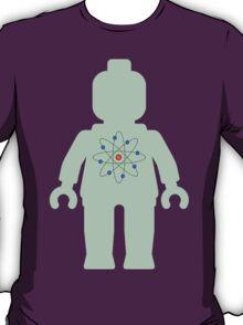Minifig with Atom Symbol  T-Shirt