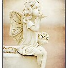 """"""" Shower you in fairy dust """"  ... Graveyard Adornments #47  by Malcolm Heberle"""