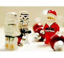 Santa's little troopers Photographic Print