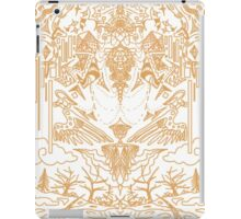 Ode the the Winter Crows (White) iPad Case/Skin