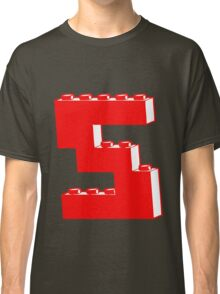THE LETTER S by Customize My Minifig Classic T-Shirt