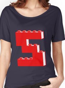 THE LETTER S by Customize My Minifig Women's Relaxed Fit T-Shirt