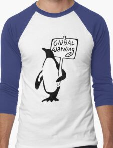 Global Warning Men's Baseball ¾ T-Shirt
