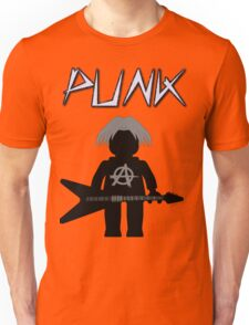 Punk Guitarist Minifig by Customize My Minifig Unisex T-Shirt
