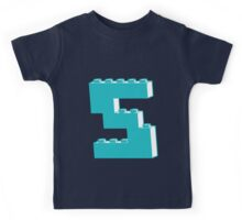 THE LETTER S by Customize My Minifig Kids Tee