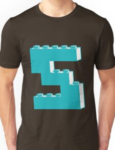 THE LETTER S by Customize My Minifig Unisex T-Shirt
