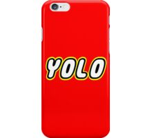 YOLO iPhone Case/Skin