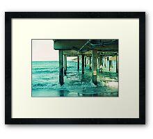 Dania Pier Framed Print