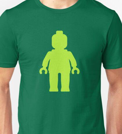 Minifig [Lime Green]  Unisex T-Shirt