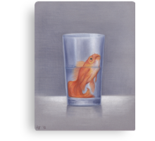 The Glass Is Half Full Canvas Print