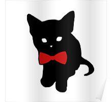 Fancy Kitten Poster