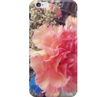 Peach Pink Flower iPhone Case/Skin