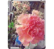 Peach Pink Flower iPad Case/Skin
