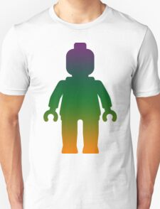 Minifig [Large Rainbow 3] T-Shirt