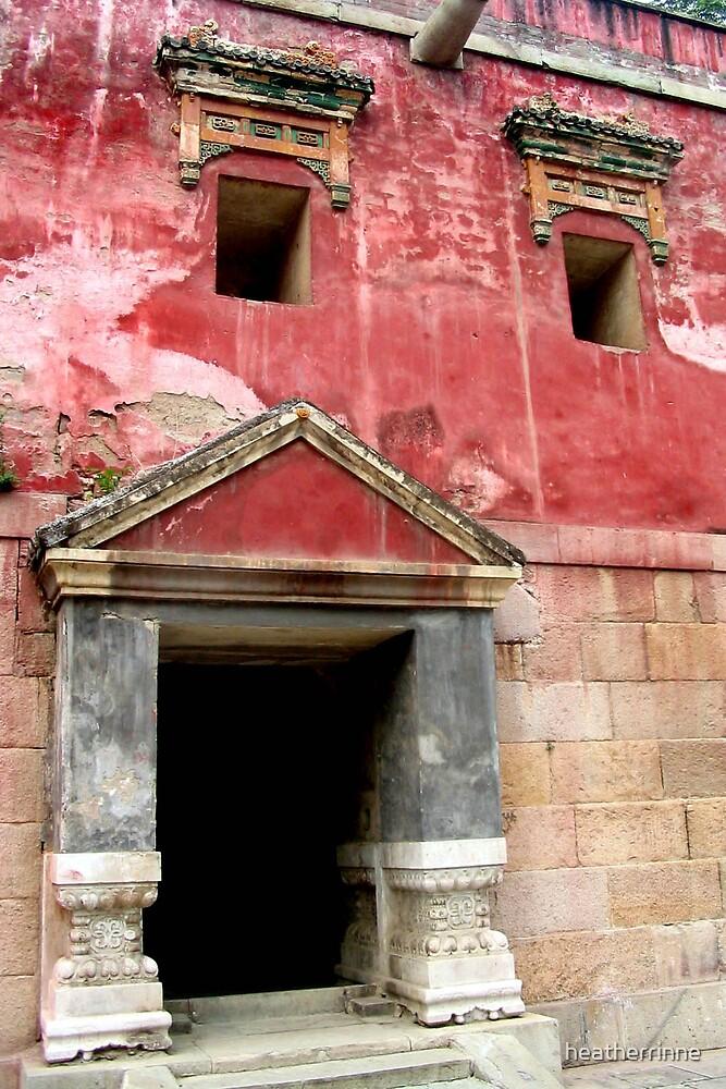 Chinese Monastery by heatherrinne