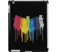 Dalek Extermination Rainbow iPad Case/Skin