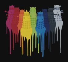 Dalek Extermination Rainbow by Clara Hollins