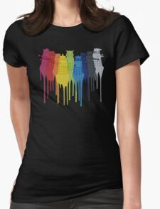 Dalek Extermination Rainbow T-Shirt