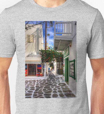 Mykonos Plateia Unisex T-Shirt