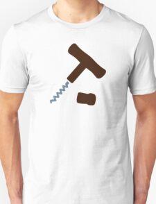 Corkscrew Wine T-Shirt