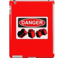 Danger Bricks Sign  iPad Case/Skin