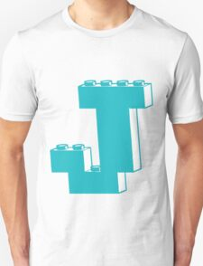 THE LETTER J by Customize My Minifig Unisex T-Shirt