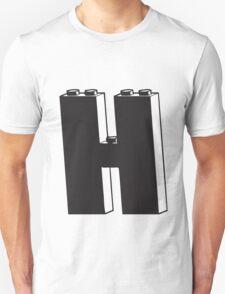 THE LETTER H  Unisex T-Shirt