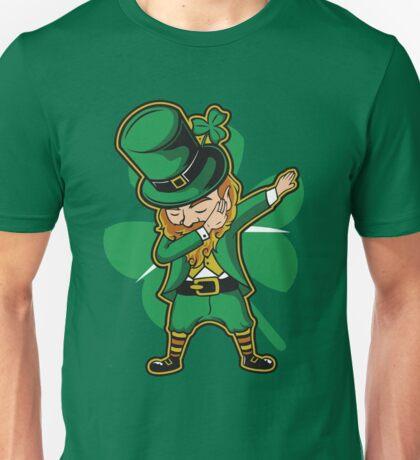 Funny Leprechaun Dabbing St Patricks Day  Unisex T-Shirt