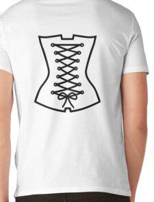 Corsage Mens V-Neck T-Shirt