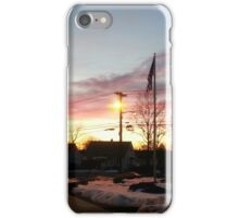 Dusk in Winter iPhone Case/Skin