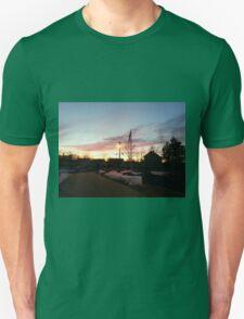Dusk in Winter Unisex T-Shirt