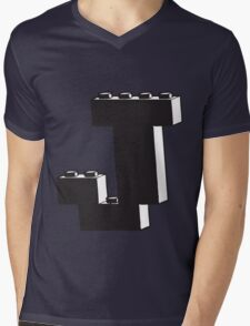THE LETTER J  Mens V-Neck T-Shirt