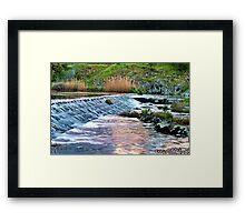"""""""The Spillway"""" Framed Print"""